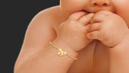 دستبند طلا کادویی Buying gold for little girl