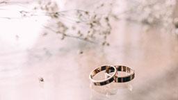 حلقه ازدواج gold ring