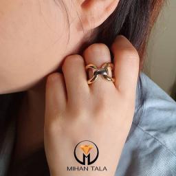 انگشتر طلا نرمال تیفانی
