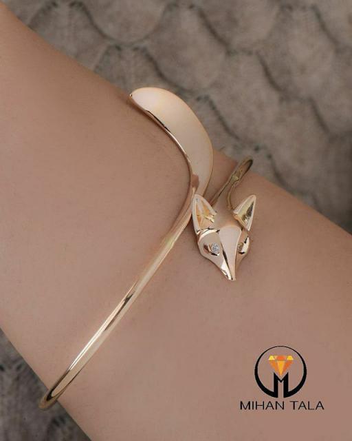 دستبند النگویی سالی روباه