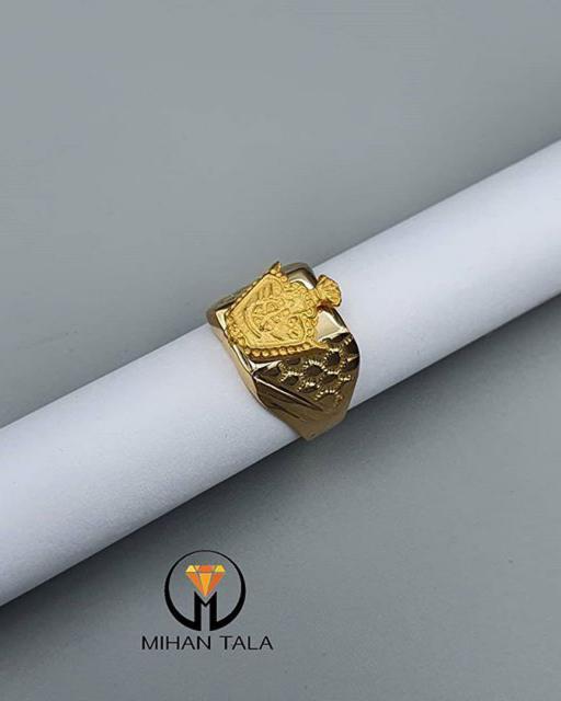 انگشتر طلا تاج
