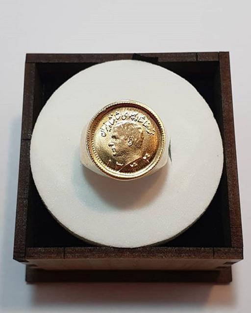 انگشتر سکه