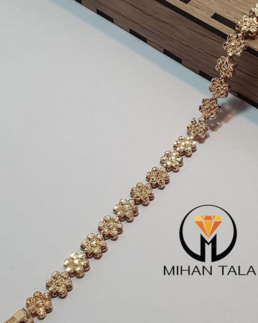دستبند طلا تراش الیزابت