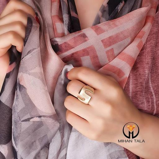 انگشتر طلا پرتوفینو