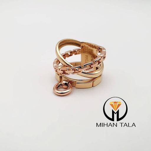 انگشتر طلا تیفانی
