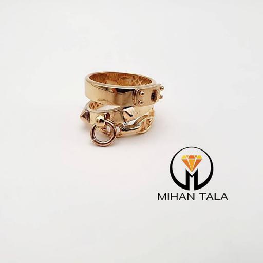 انگشتر طلا تیفانی کد2