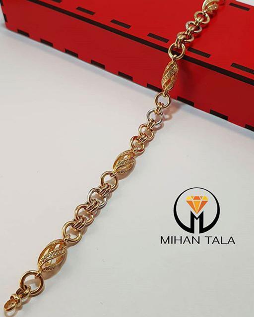 دستبند طلا هالو
