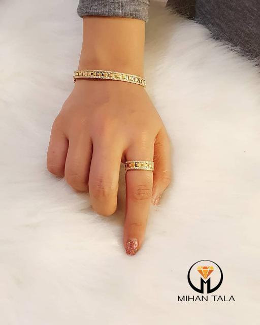 دستبند و انگشتر رولکس