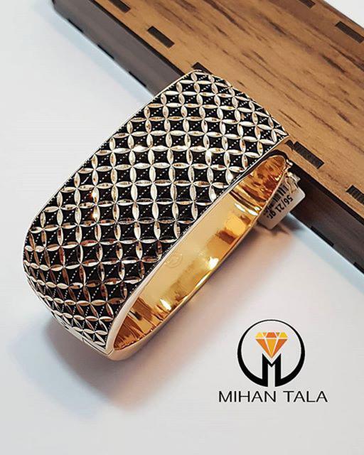 دستبند طلا النگویی گلوا