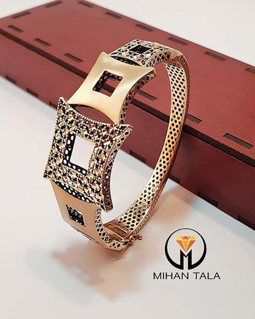 دستبند طلا النگویی میهن