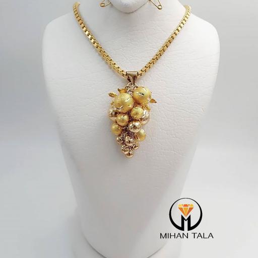 گردنبند طلا خوشه انگور